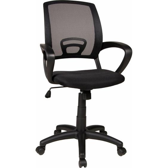 Duo Collection Stuhl Tom, mit Netzstoffbezug Einheitsgröße schwarz Kinder Kinderstühle Kindermöbel Stühle