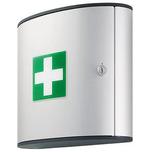 DURABLE Medizinschrank First AID BOX M DIN 13164 silber