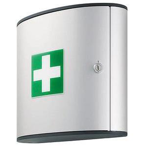 DURABLE Medizinschrank FIRST AID BOX M ohne Füllung silber