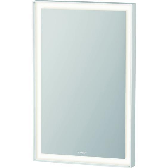 Duravit Spiegel mit LED-Beleuchtung 45 cm L-Cube Weiß EEK: A