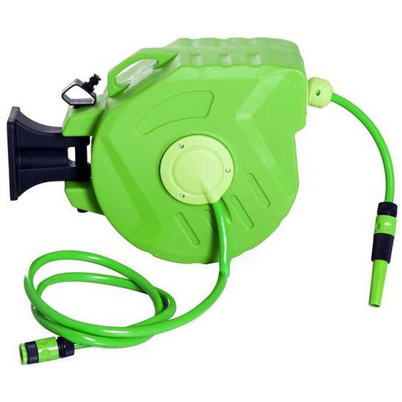Durhand Schlauchaufroller schwenkbar grün
