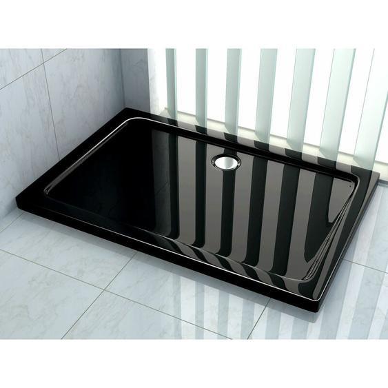 Duschtasse 100 x 90 cm (schwarz) - Schwarz