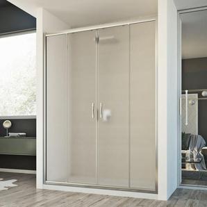 Duschtür Young 2 Türen 170CM H198 Strukturglas C - IDRALITE