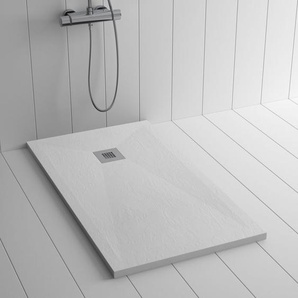 Duschwanne Kunstharz PLES Weiß- 210x100 cm - SHOWER ONLINE