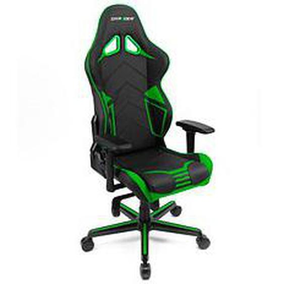 DXRacer RACING PRO Gaming Stuhl grün Kunstleder