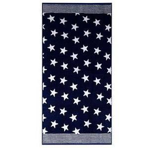 Dyckhoff Duschtuch Stars blau