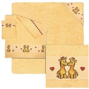 Handtuch Set, Dyckhoff, »Bobo«, mit Giraffen und Herzen