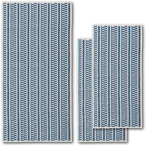Dyckhoff Handtuch Set »Point« (Set, 3-tlg), mit ansprechenden Punkten