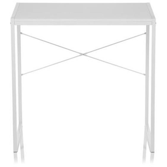 EASY UP | 78x46 - Schreibtisch Weiß