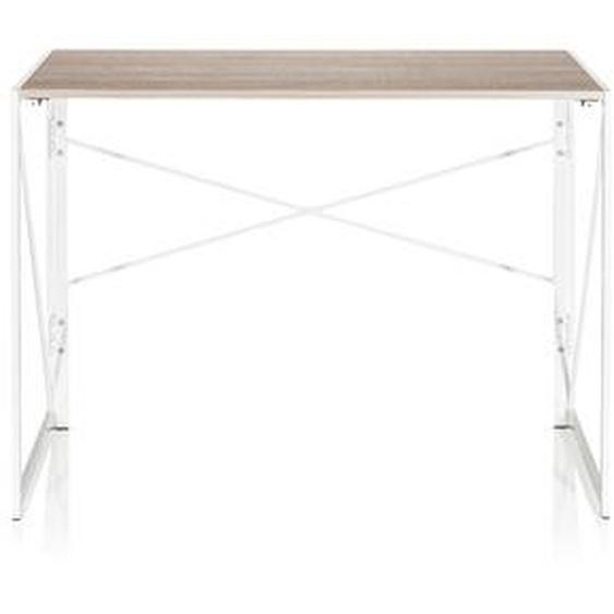 EASY UP MULTI   100x50 - Schreibtisch Eiche / Weiß