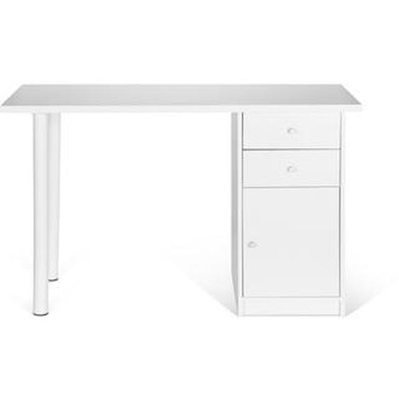 EASY WORK III | 120x50 - Schreibtisch Weiß