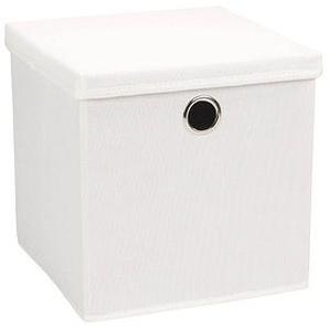 Echtwerk Rack Aufbewahrungsbox   weiß 32,0 x 32,0 x 32,0 cm