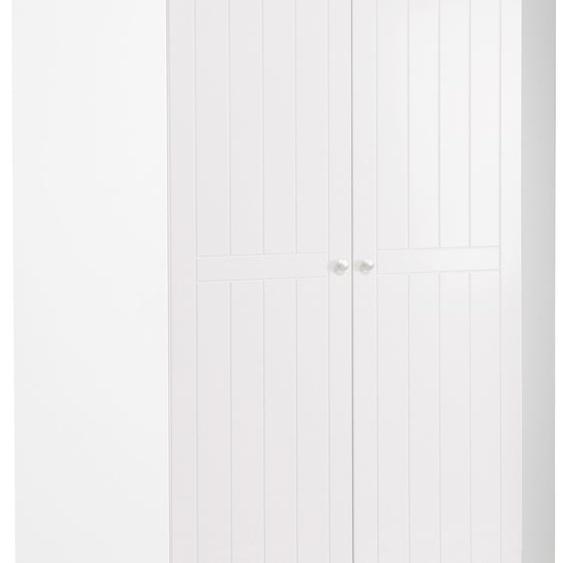 Eck-Kleiderschrank »Florenz«, 100x185x100 cm (BxHxT), FSC®-zertifiziert, roba®, Material Holzwerkstoff