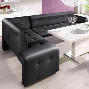Eckbank, schwarz, schwarz, FSC-Zertifikat, , , exxpo - sofa fashion