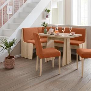 Eckbankgruppe »Hanau 1«, beige, zeitloses Design, , , FSC®-zertifiziert,