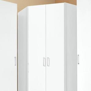Eckkleiderschrank »Bilbao«, weiß