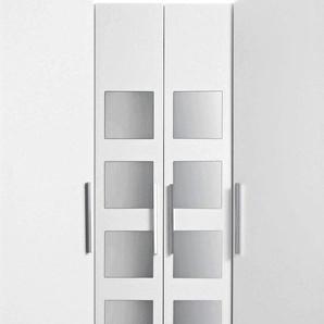 Eckkleiderschrank »Saragossa«, Schenkelmaße 78/78 cm, weiß