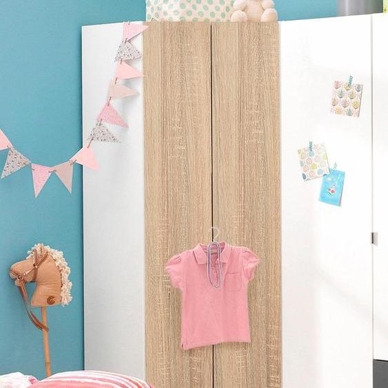 Eckkleiderschrank Steyr Einheitsgröße braun Kinder Kinderschränke Kindermöbel Schränke