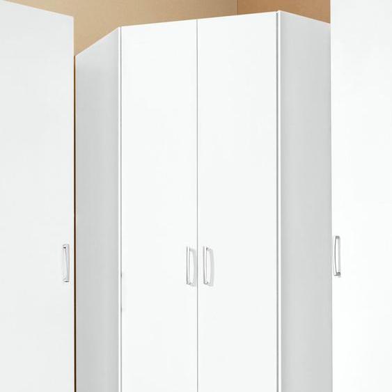 Eckkleiderschrank, weiß »Bilbao«, priess