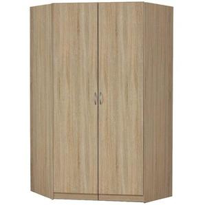 begehbarer Eckschrank  Case | holzfarben | 117 cm | 197 cm | 117 cm |
