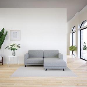 Ecksofa Naturweiß - Flexible Designer-Polsterecke, L-Form: Beste Qualität, einzigartiges Design - 185 x 75 x 162 cm, konfigurierbar