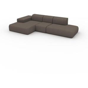 Ecksofa Saharabeige - Flexible Designer-Polsterecke, L-Form: Beste Qualität, einzigartiges Design - 319 x 72 x 168 cm, konfigurierbar