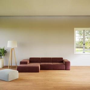 Ecksofa Altrosa - Flexible Designer-Polsterecke, L-Form: Beste Qualität, einzigartiges Design - 307 x 72 x 168 cm, konfigurierbar