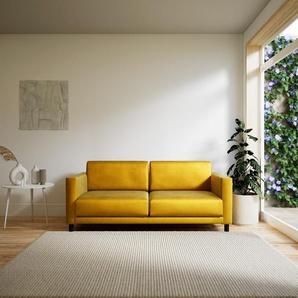 Ecksofa Rapsgelb - Flexible Designer-Polsterecke, L-Form: Beste Qualität, einzigartiges Design - 184 x 75 x 98 cm, konfigurierbar