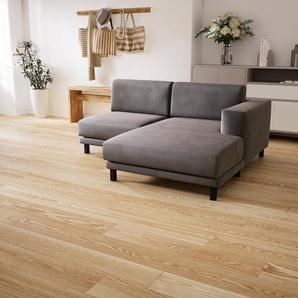 Ecksofa Taupegrau - Flexible Designer-Polsterecke, L-Form: Beste Qualität, einzigartiges Design - 184 x 75 x 162 cm, konfigurierbar