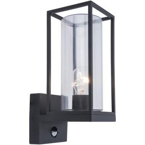 Eco-Light Außenwandleuchte, Anthrazit, Alu, Eisen, Stahl & Metall