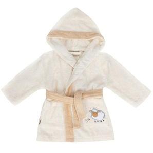 Egeria Bademantel Baby «Sheep elfenbein», reine Baumwolle, verschiedene Größen, Stickerei
