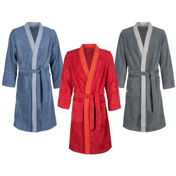 Egeria Bademantel Herren «Bruno», Kimono, reine Baumwolle, verschiedene Größen