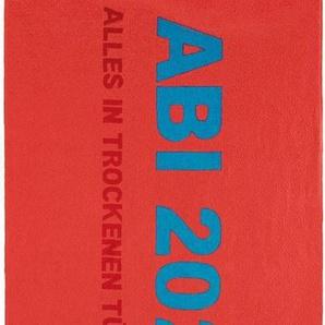 Strandtuch »ABI 2020«, Egeria, mit Schriftzug