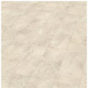 EGGER Designboden »EGGER HOME Design Stein weiss«, 1295 x 243 mm, Stärke: 5 mm