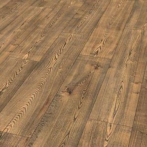 EGGER Korklaminat »HOME Comfort Pensacola Eiche dunkel«, 1292 x 245 mm, Stärke: 8 mm