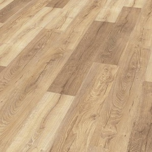 EGGER Laminat »HOME Livingston Eiche hell«, 1,985 m²/Pkt., Stärke: 8 mm
