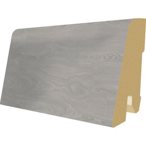 EGGER Sockelleiste »L543 - Toscolano Eiche grau«, 6 cm Sockelhöhe, 240 cm Länge