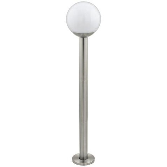Eglo Außenstehleuchte Weiß , Metall, Kunststoff , 98 cm