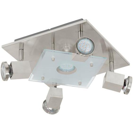 EGLO Eglo LED-Strahler Pawedo nickel 5-flammig