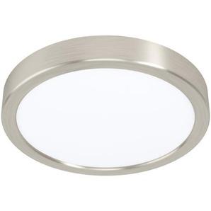 Eglo LED-Aufbauleuchte Fueva 5 Nickel matt-Weiß Ø 21 cm, 16,5 W