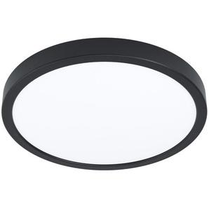 Eglo LED-Aufbauleuchte Fueva 5 Schwarz-Weiß Ø 28,5 cm, 20 W, IP44