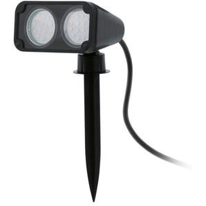 EGLO LED-Außen-Erdspieß Nema 1 schwarz 2-flammig