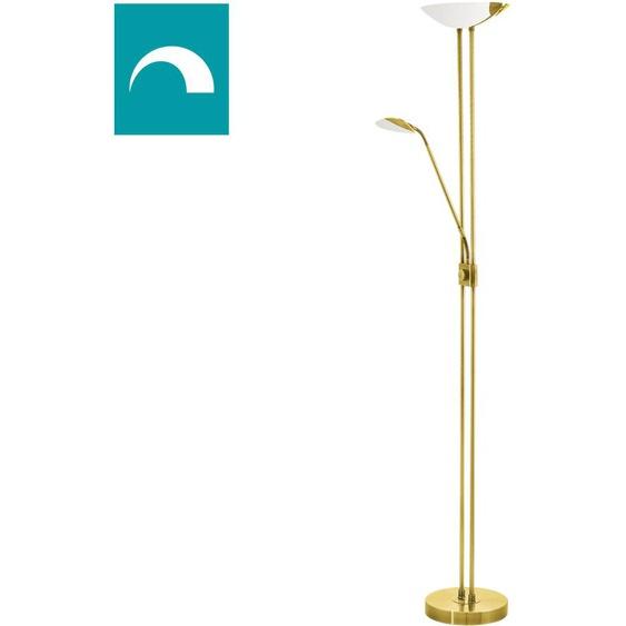 EGLO,LED Stehlampe BAYA LED 3 -flg. /, H:180 cm goldfarben Stehlampen LED-Lampen und LED-Leuchten Lampen Leuchten