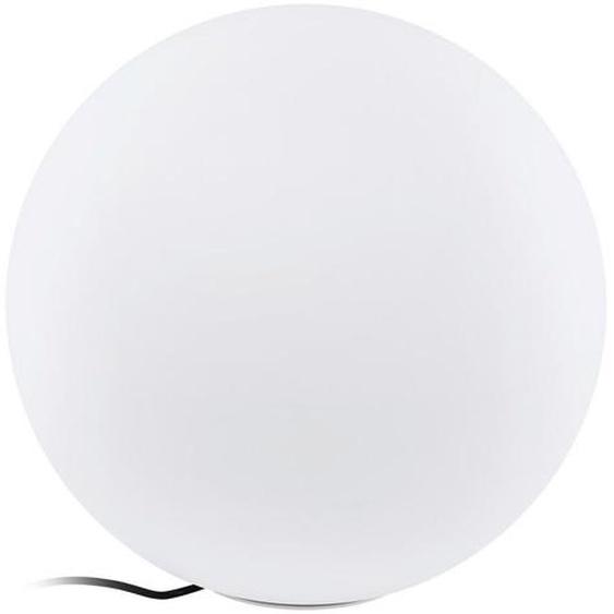 Eglo Leuchten Gmbh Außenkugelleuchte , Weiß , Kunststoff