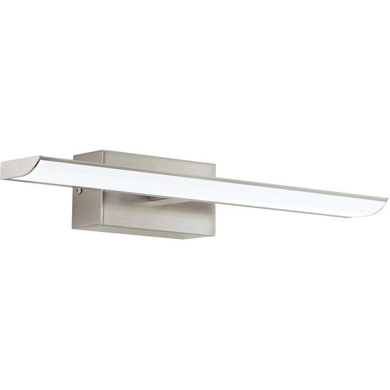 EGLO,Spiegelleuchte TABIANO 2 -flg. /, H:7 cm silberfarben Bad-Spiegelleuchten Badleuchten Lampen Leuchten