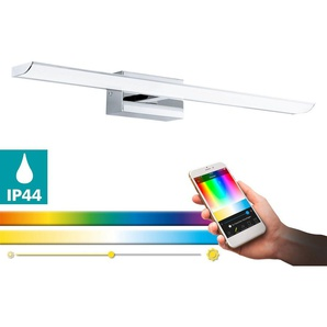 EGLO Spiegelleuchte »TABIANO-C«, 1-flammig, EGLO Connect, Steuerung über APP + Fernbedienung, BLE, CCT, RGB