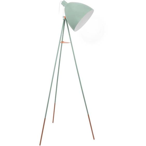 EGLO,Stehlampe DUNDEE 1 -flg. /, H:135,5 cm grün Standleuchten Stehleuchten Lampen Leuchten