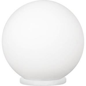 EGLO 85264 A++ to E, Tischleuchte, Plastik, E27, Weiß, 20 x 20 x 20 cm