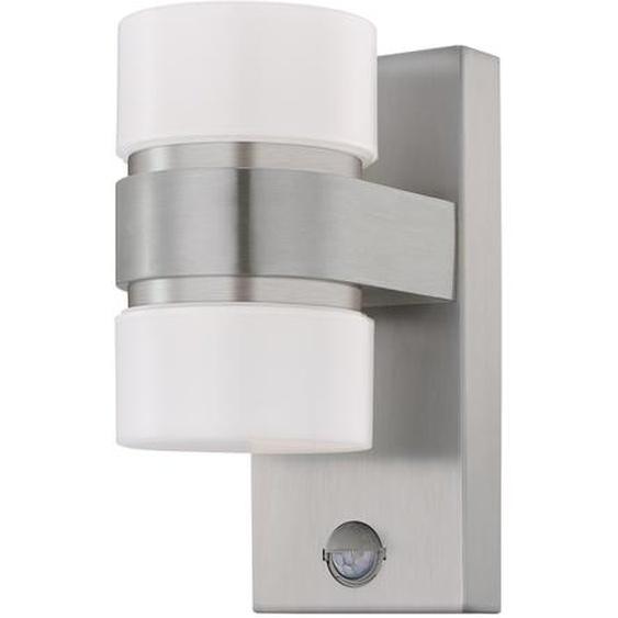 EGLO Wandleuchte Atollari LED, edelstahl/silber