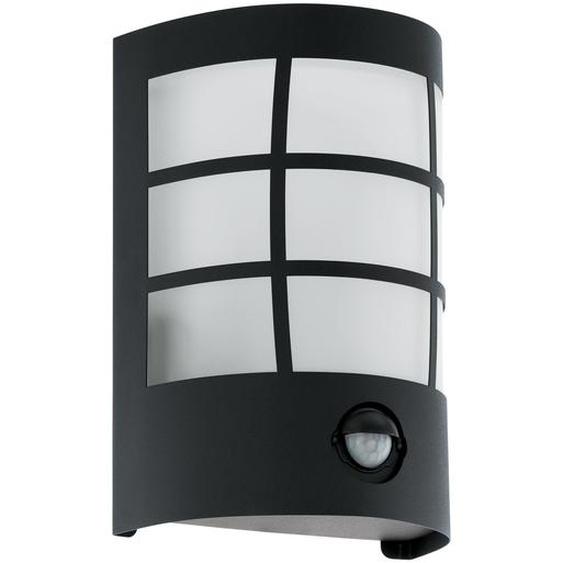 EGLO Wandleuchte Cerno E27, schwarz